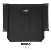 Medline Upholstery, Back, Excel K4 Wheelchair, Black Nylon, 22