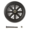 Medline 8 Rear Wheel with Bearing and Axle for Transport Chair MED WCA808945