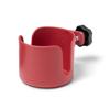 Medline Cup Holder for Wheelchairs, Burgundy, 1/EA MED WCACUPR