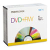 Imation Memorex® DVD+RW Rewritable Disc MEM 05509