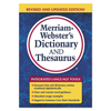 Merriam Webster Merriam Webster Paperback Dictionary and Thesaurus MER 7326