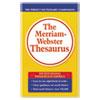 Merriam Webster Merriam Webster Paperback Thesaurus MER 850