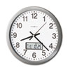 Howard Miller Howard Miller® Chronicle Wall Clock with LCD Inset MIL 625195