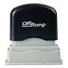 Offistamp Offistamp® Pre-Inked Message Stamp MKG 321614