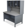 Marvel Group 20 Slot Mailroom Organizer, 1 Storage Shelf, Riser MLG UTIL0071-AT
