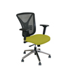 Marvel Group Executive Mesh Chair, Lime Fabric/Aluminum Base MLG WMCEXFA-F6561