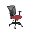Marvel Group Executive Mesh Chair, Raspberry Fabric/Black Base MLG WMCEXFB-F6557