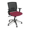 Marvel Group Operational Mesh Chair, Raspberry Fabric/Aluminum Base MLG WMCOPFA-F6557