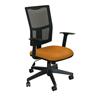 Marvel Group Task Mesh Chair, Orange Fabric/Black Base MLG WMCTKFB-F6551