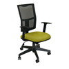 Marvel Group Task Mesh Chair, Lime Fabric/Black Base MLG WMCTKFB-F6561