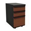 Marvel Group Zapf Mobile Pedestal, Box/Box/File, Dark Neutral, Collectors Cherry Fronts MLG ZSMPBBF19L-DTCC