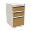 Filing cabinets: Marvel Group - Zapf Mobile Pedestal, Box/Box/File, Featherstone, Solar Oak Fronts