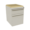 Filing cabinets: Marvel Group - Zapf Mobile Pedestal w/Seat, Box/File, Featherstone Forsythia Fabric