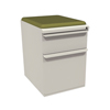 Filing cabinets: Marvel Group - Zapf Mobile Pedestal w/Seat, Box/File, Featherstonel Fennel Fabric