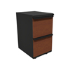 Filing cabinets: Marvel Group - Zapf Mobile Pedestal, File/File, Dark Neutral, Collectors Cherry Fronts