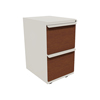 Filing cabinets: Marvel Group - Zapf Mobile Pedestal, File/File, Featherstone, Collectors Cherry Fronts