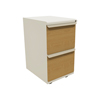 Marvel Group Zapf Mobile Pedestal, File/File, Featherstone, Solar Oak Fronts MLG ZSMPFF19L-FTSO