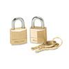 Master Lock Master Lock® Twin Brass 3-Pin Tumbler Lock MLK120T
