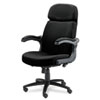 Tiffany Industries Mayline® Big & Tall Series Executive Swivel/Tilt Chair with Upholstered Arms MLN 6446AG2113