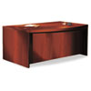 Tiffany Industries Mayline® Aberdeen™ Series Bow Front Desk Shell MLN ABD7242LCR