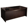 Tiffany Industries Mayline® Mira Series Bow Front Desk MLN MDK3672ESP