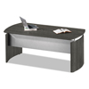 Mayline Mayline® Medina™ Series Laminate Curved Desk MLN MNDBLGS