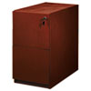 Filing cabinets: Mayline® Luminary Series File/File Pedestal for Bow Front Desk Shell