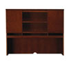 Mayline Mayline® Sorrento Series Hutch with Wood Doors MLN SHA72SCR