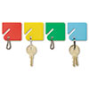 MMF Industries™ Slotted Rack Key Tags