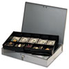 MMF Industries STEELMASTER® by MMF Industries™ Locking Heavy-Duty Steel Extra-Wide Cash Box MMF 2215CBTGY