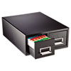 MMF Industries STEELMASTER® by MMF Industries™ Drawer Card Cabinet MMF 263F5816DBLA