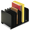 MMF Industries STEELMASTER® by MMF Industries™ Adjustable Steel Book Rack MMF26413BRBLA