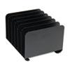 MMF Industries STEELMASTER® by MMF Industries™ Desktop Vertical Organizer MMF 2646BLA