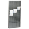 MMF Industries STEELMASTER® by MMF Industries™ Time Card Rack MMF 27018JTRGY
