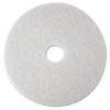 3M 3M™ White Super Polish Floor Pads 4100 MMM 08480