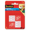 3M Scotch® Removable Wall Mounting Tabs MMM108