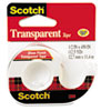 3M Scotch® Transparent Glossy Tape In Hand Dispensers MMM 144
