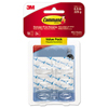 3M Command™ Clear Hooks and Strips MMM 17006CLR18ES