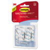 3M Command™ Clear Hooks and Strips MMM 17065CLRVPES