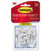 3M Command™ Clear Hooks and Strips MMM 17067CLR9ES