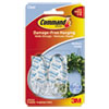 3M Command™ Clear Hooks and Strips MMM 17091CLR