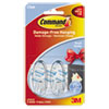 3M Command™ Clear Hooks and Strips MMM 17092CLR