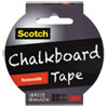 3M Scotch® Chalkboard Tape MMM 1905RCBBLK