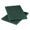 cleaning chemicals, brushes, hand wipers, sponges, squeegees: Scotch-Brite™ PROFESSIONAL Heavy-Duty Scouring Pad 86