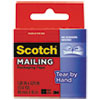 3M Scotch® Tear-By-Hand Packaging Tape MMM 3841