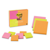3M Post-it® Notes Super Sticky Pads in Rio de Janeiro Colors MMM 46339SSAU