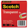 3M Scotch® Transparent Glossy Tape MMM 6002P1272