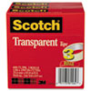 3M Scotch® Transparent Glossy Tape MMM 600723PK