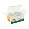3M Post-it® Greener Notes Original Recycled Note Pads MMM 65324RPVAD