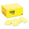 post it: Post-it® Notes Original Pads in Canary Yellow